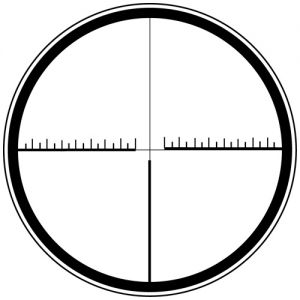 Tactical reticle