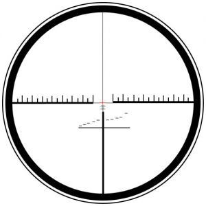 Spindler reticle - (illuminated cross hairs)